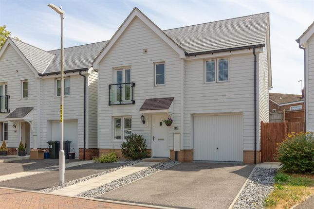 Thumbnail Detached house for sale in Greystones, Willesborough, Ashford