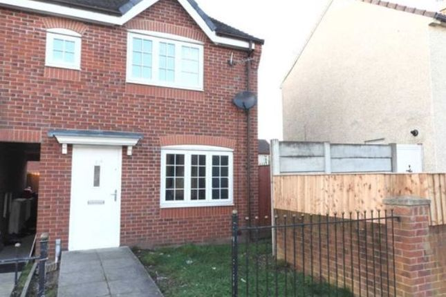 Thumbnail End terrace house for sale in 17A Overton Close, Liverpool, Merseyside
