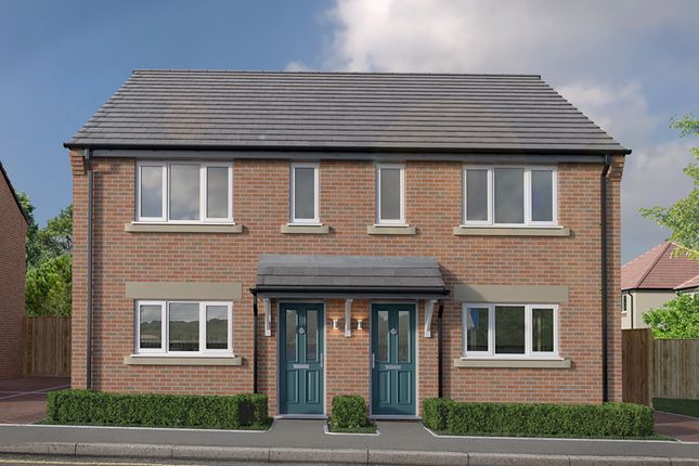 Thumbnail Semi-detached house for sale in The Derwent, Thornfield Mews, Chesterfield