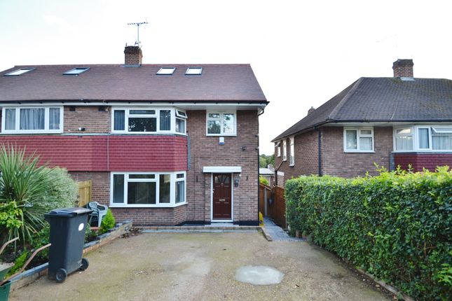 Thumbnail Semi-detached house to rent in Abbotshall Avenue, Southgate