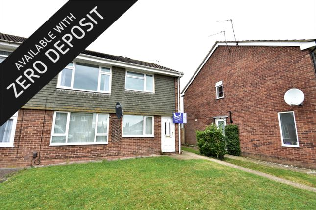 Thumbnail Maisonette to rent in Wadhurst Road, Hedge End, Southampton