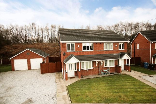 Thumbnail Semi-detached house for sale in Fir Street, Cadishead, Manchester