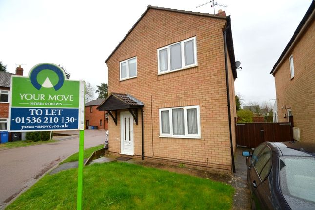 Thumbnail Detached house to rent in Hereford Close, Desborough, Kettering