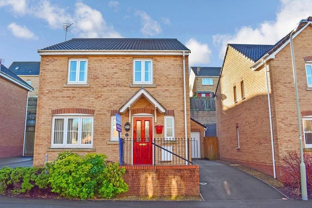Thumbnail Detached house for sale in Kingfisher Road, North Cornelly, Bridgend, Bridgend County.