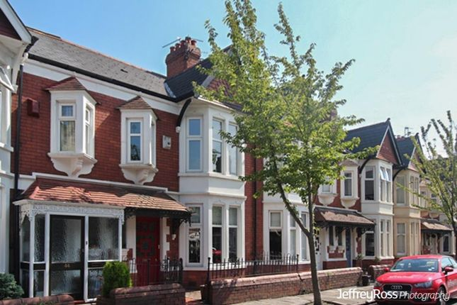 Thumbnail Terraced house to rent in Stallcourt Avenue, Roath, Cardiff