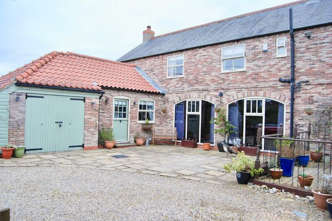 Thumbnail Semi-detached house for sale in Strensall Road, Earswick, York