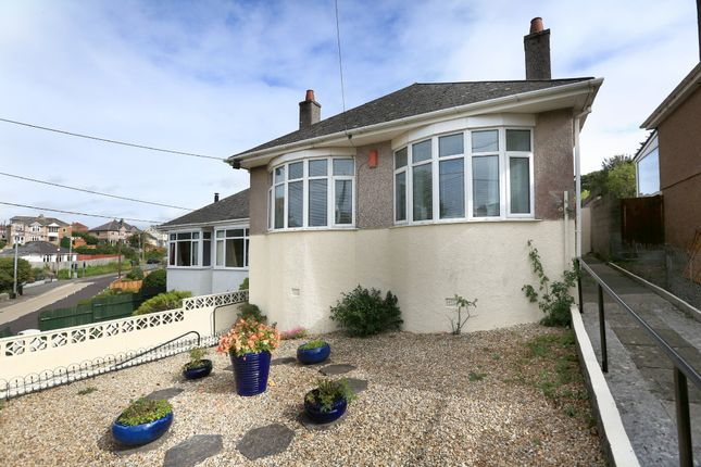 Thumbnail Detached bungalow for sale in Radford Park Road, Plymstock, Plymouth