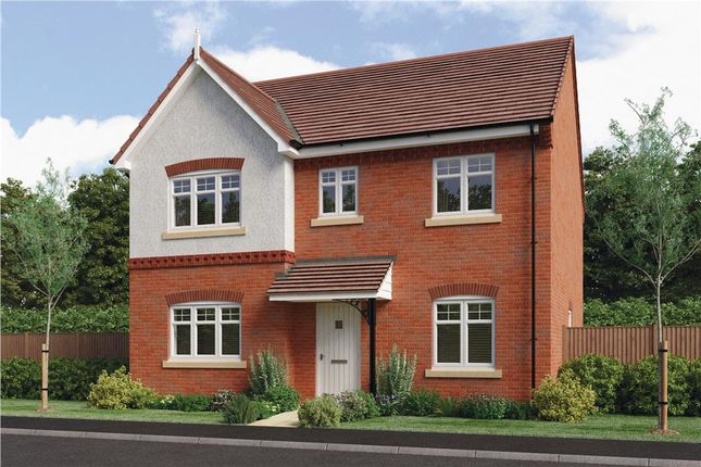"Thumbnail Detached house for sale in ""Foxley"" at Warwick Road, Kibworth"