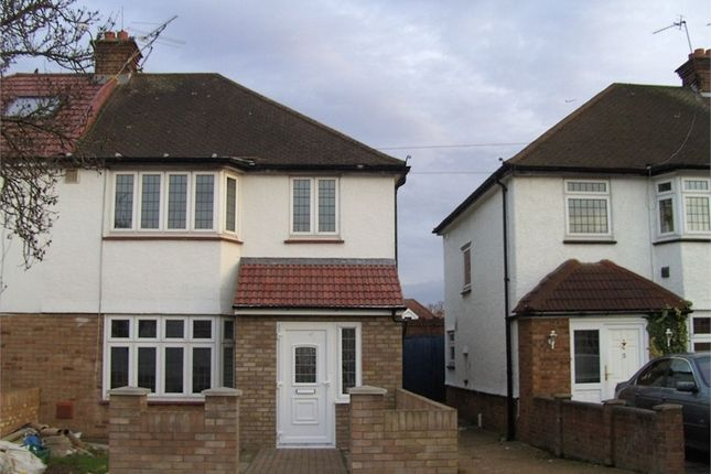 Thumbnail Semi-detached house to rent in Iverna Gardens, Feltham, Greater London