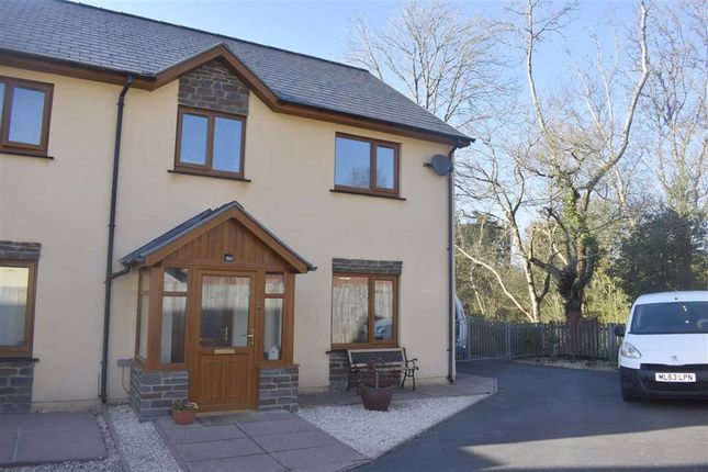 Thumbnail Semi-detached house for sale in Cysgod Y Coed, Cwmann, Lampeter
