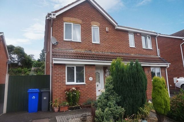 Semi-detached house for sale in Althrop Grove, Longton, Stoke-On-Trent