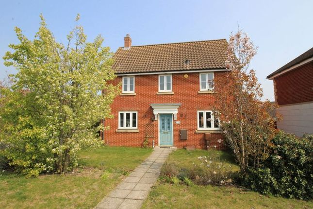 Thumbnail Detached house for sale in Lord Nelson Drive, Costessey, Norwich