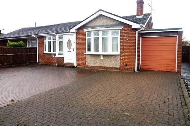 Thumbnail Semi-detached bungalow for sale in Acomb Avenue, Seaton Delaval, Whitley Bay