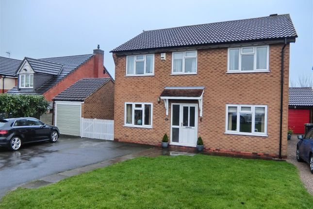 5 bed detached house for sale in Winchester Court, Ibstock, Leicestershire
