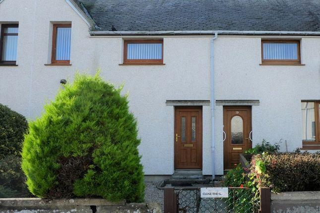 Thumbnail Terraced house for sale in Braal Terrace, Halkirk