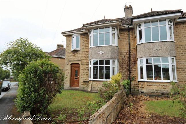 Thumbnail Semi-detached house to rent in Bloomfield Drive, Odd Down, Bath