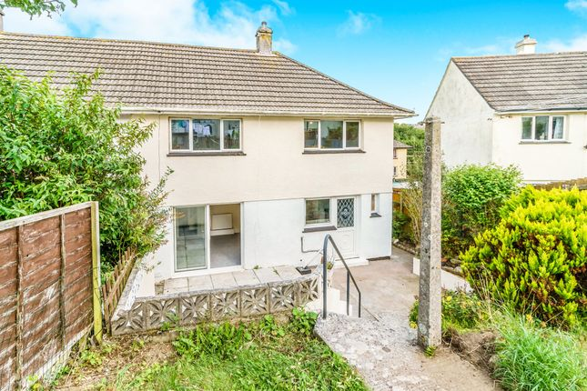 Thumbnail Semi-detached house for sale in Fegen Road, Plymouth