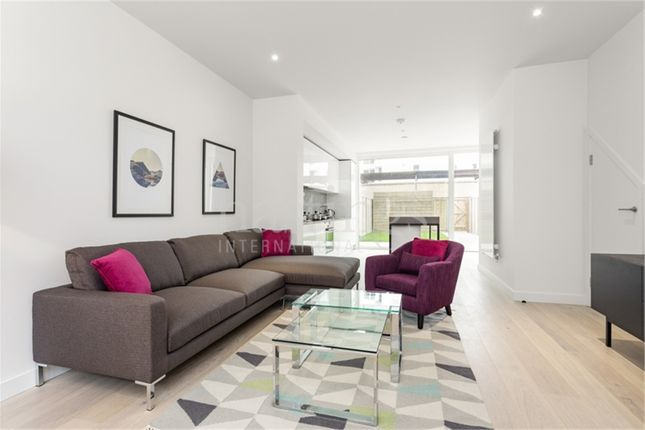 Thumbnail End terrace house for sale in Starboard Way, Royal Wharf, London
