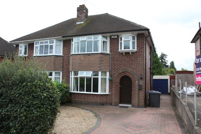 Thumbnail Semi-detached house for sale in Lawn Avenue, Allestree, Derby