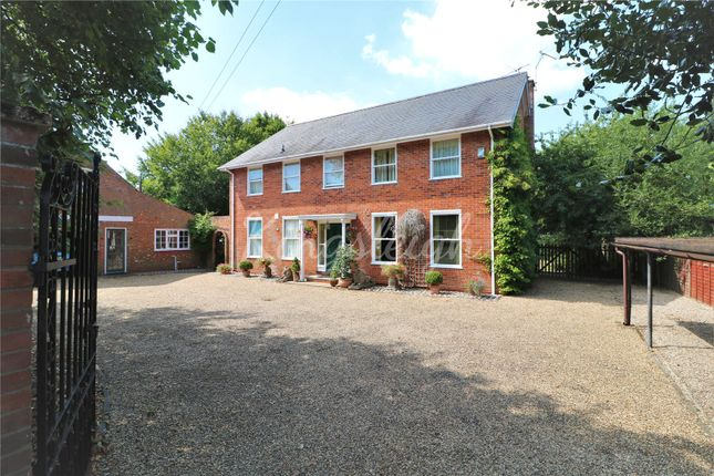 Thumbnail Detached house for sale in Lower Street, Stratford St. Mary, Colchester, Suffolk