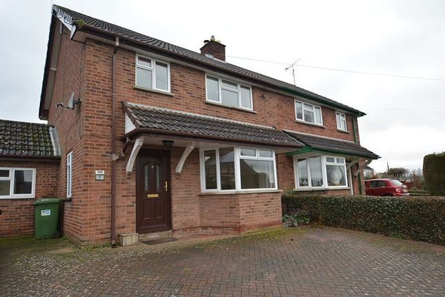 Thumbnail Semi-detached house to rent in Church View, Much Dewchurch, Hereford.