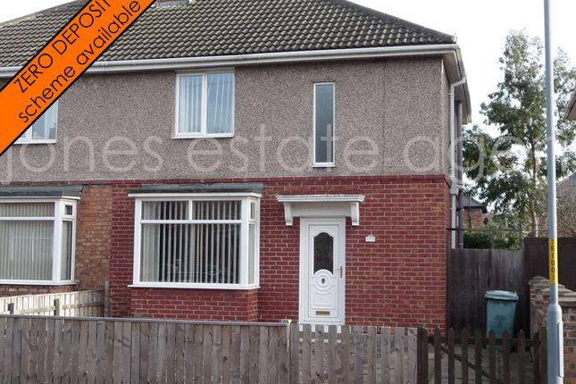 Thumbnail Semi-detached house to rent in Eamont Road, Stockton On Tees