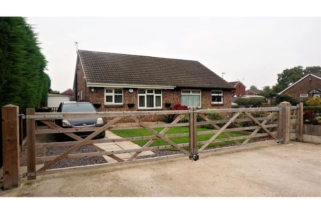 Thumbnail Semi-detached bungalow for sale in Bradfield Road, Crewe