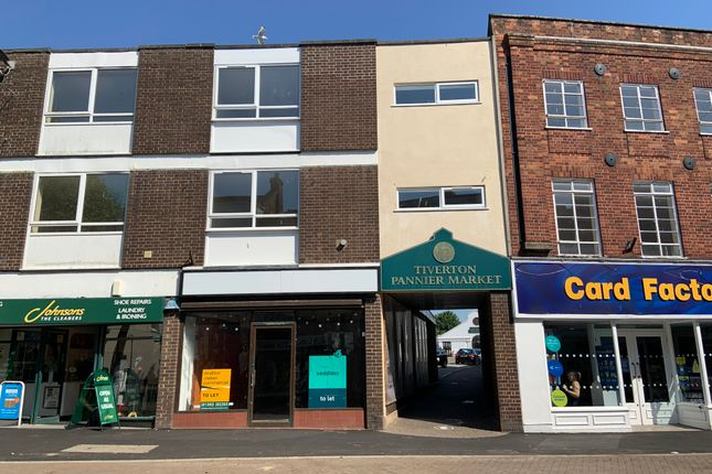 Retail premises to let in Fore Street, Tiverton