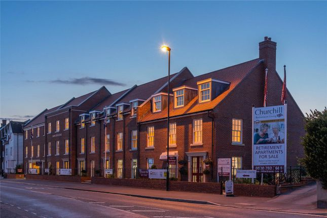 Thumbnail Flat for sale in Harington Lodge, 117 The Hornet, Chichester, West Sussex
