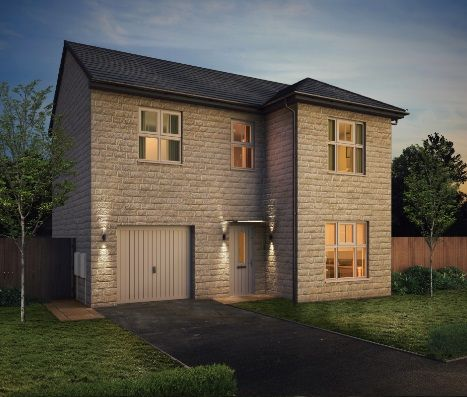 Thumbnail Detached house for sale in Red Hall Lane, Snow Hill, Wakefield