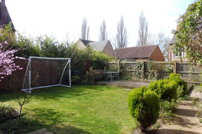 Thumbnail Detached house for sale in Chainbridge Court, Thrapston, Kettering