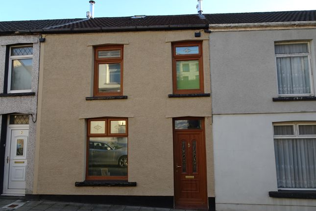 Thumbnail Terraced house for sale in Commercial Terrace, Treharris
