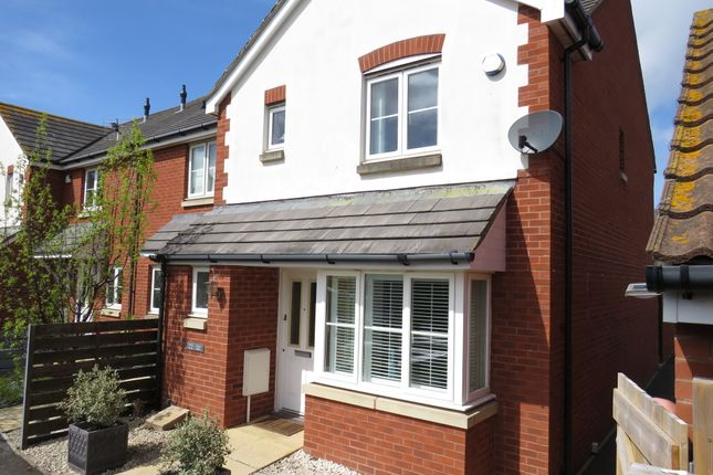 Thumbnail End terrace house for sale in Holm View, Watchet