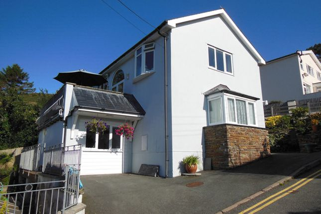 Thumbnail Detached house for sale in Argoed Road, Aberdovey, Gwynedd