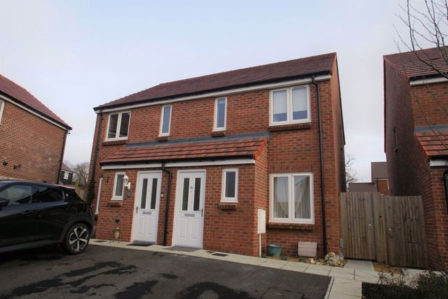Thumbnail Semi-detached house to rent in Arcaro Road, Andover
