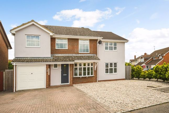 Thumbnail Detached house for sale in Evans Close, Aylesbury
