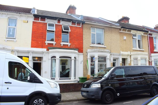 Thumbnail Terraced house to rent in Manners Road, Southsea, Portsmouth, Hampshire