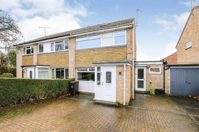 Thumbnail Semi-detached house for sale in Bardale Close, Knaresborough