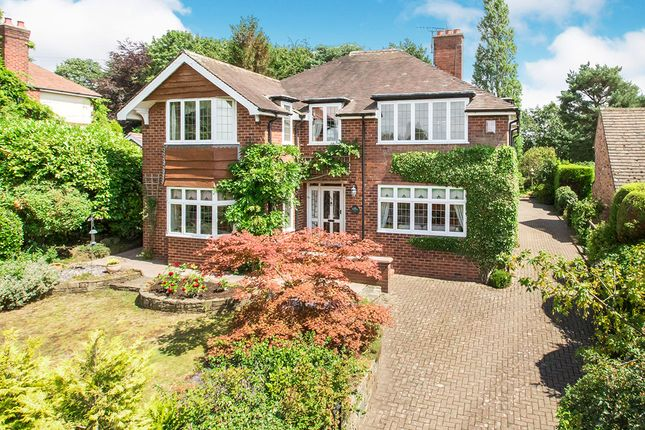 Thumbnail Detached house for sale in Newcastle Road, Congleton, Cheshire