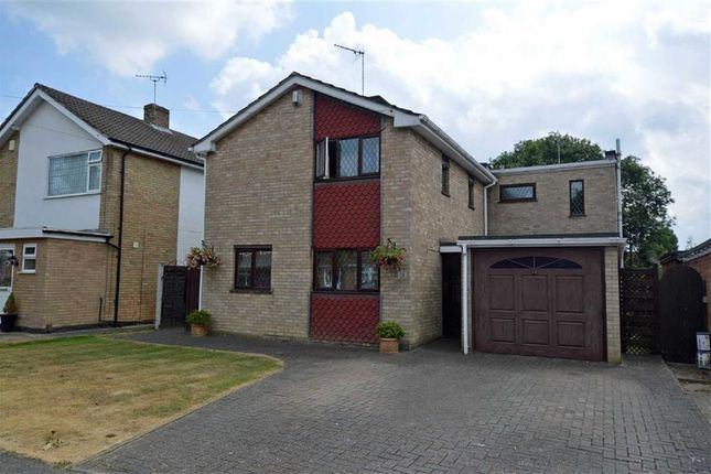 Thumbnail Detached house for sale in Clovelly Road, Glenfield, Leicester
