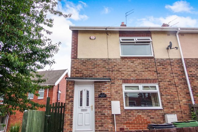 Thumbnail Semi-detached house to rent in Hillcrest Avenue, Choppington