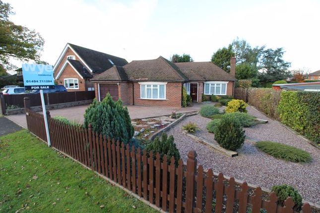Thumbnail Detached bungalow for sale in Curzon Avenue, Hazlemere, High Wycombe