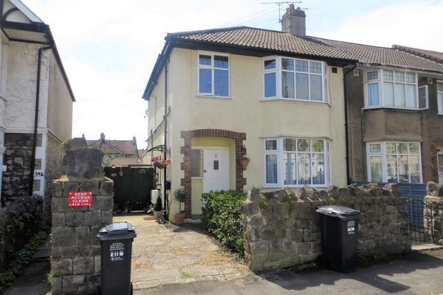 Thumbnail Semi-detached house for sale in Southend Road, Weston Super Mare