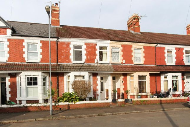 Thumbnail Terraced house to rent in Turberville Place, Canton, Cardiff