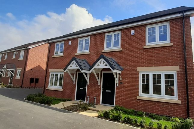 Thumbnail 3 bedroom semi-detached house for sale in Ellis Gardens, Newton Lane, Newton, Rugby