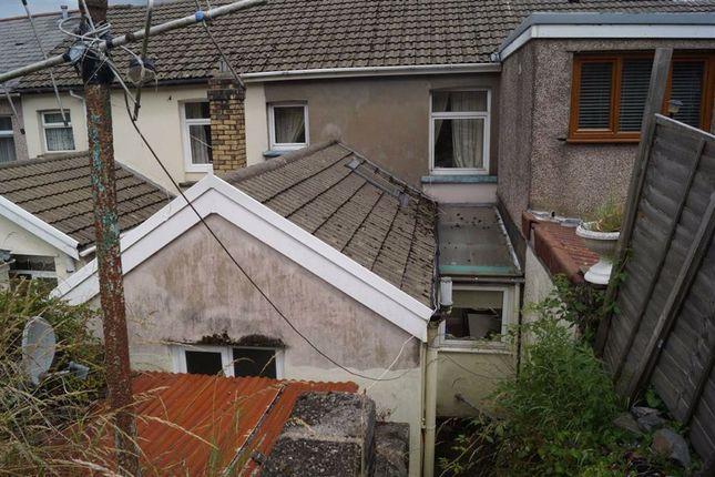 Exterior of Cilhaul Terrace, Mountain Ash CF45
