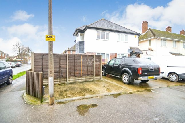 Thumbnail Semi-detached house for sale in Hawthorne Avenue, Cheshunt, Hertfordshire