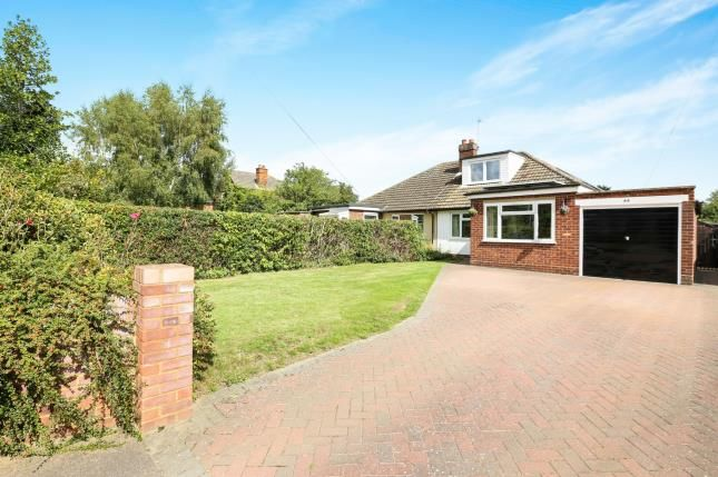 Thumbnail Bungalow for sale in Bedford Road, Houghton Conquest, Beds, Bedfordshire