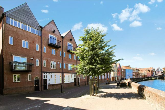 Thumbnail Town house to rent in Quayside, Norwich, Norfolk
