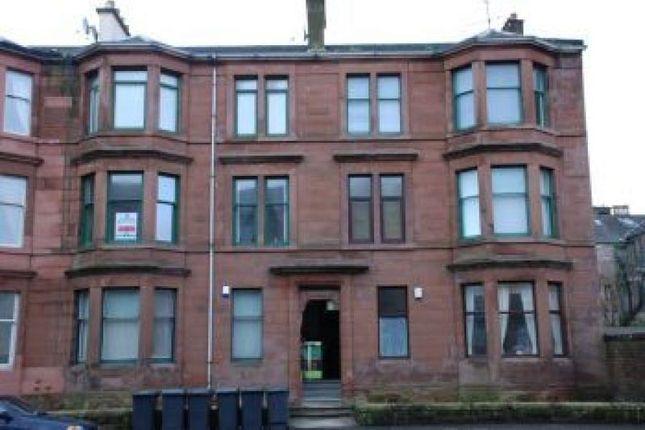 Thumbnail Flat to rent in Brougham Street, Greenock